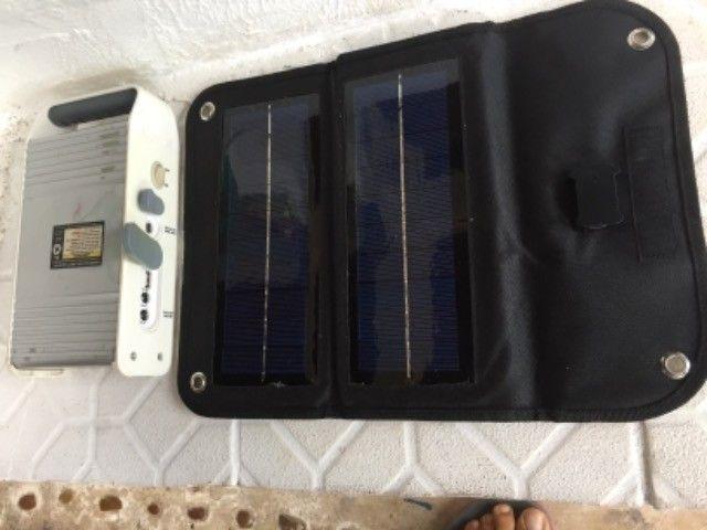 Carregador Solar para Celular com Bateria - Foto 4