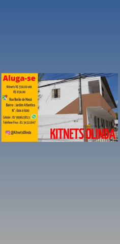 Kitnets Olinda - Jardim Atlantico. Valor de R$550 Até R$650 Reais!  - Foto 2