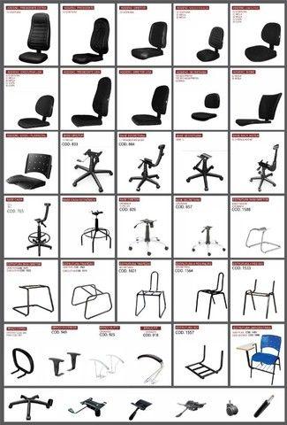 cadeiras para escritorio ofertas queima de estoque  - Foto 2