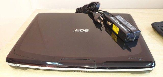 Note book Acer aspire 5920 com defeito no estado