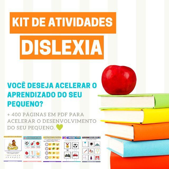 .:: Kit de Atividades ::. Kit Dislexia - Foto 5