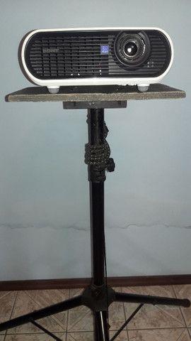 Tripé pedestal/suporte para Projetor e Caixa de som - Foto 6