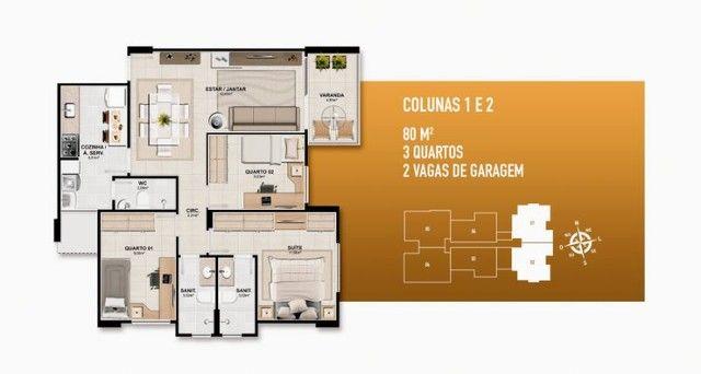 Apartamento à venda, TRIANON JARDINS no Jardim Europa Aracaju SE - Foto 17