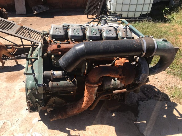 Motor Mercedes 449 completo  - Foto 4