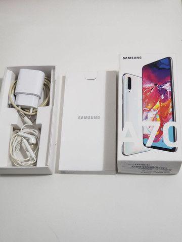 SOMENTE VENDA!Samsung A70 Semi Novo! - Foto 5