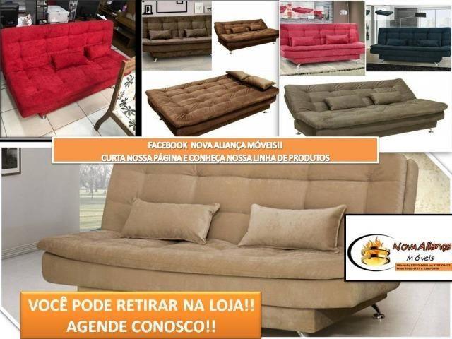 Natal de Ofertas! Sofá cama Lome ligue 97970-4415 Receba rápido!!