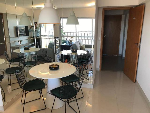 Apartamento com 2 dormitórios à venda, 66 m² por R$ 306.000 - Setor Coimbra - Goiânia/GO - Foto 3
