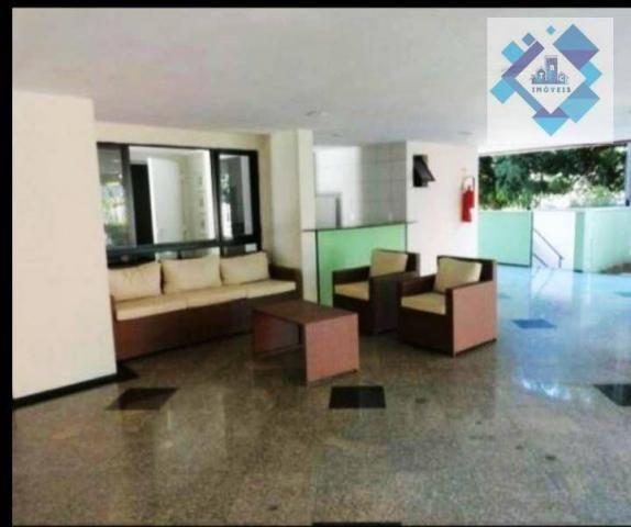 Apartamento com 3 dormitórios à venda, 65 m² por R$ 360.000 - Meireles - Fortaleza/CE - Foto 9