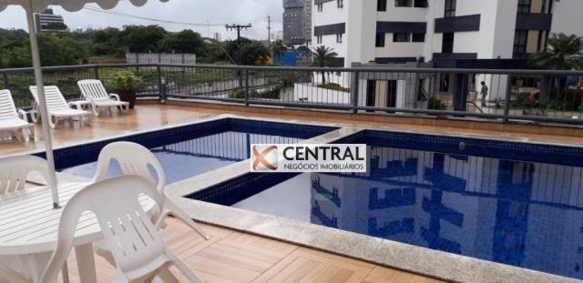 Apartamento com 3 dormitórios para alugar, 120 m² por R$ 2.000,00/mês - Caminho das Árvore
