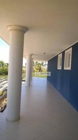 Casa residencial para venda e locação, Arembepe, Camaçari - CA0133. - Foto 5