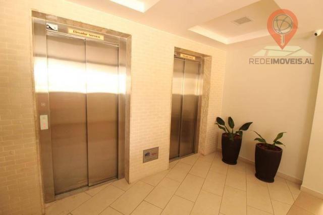 Apartamento com 2 dormitórios à venda, 65 m² por R$ 350.000 - Jatiúca - Maceió/AL - Foto 4
