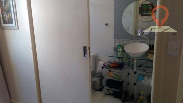 Apartamento com 2 dormitórios à venda, 110 m² por R$ 550.000 - Jatiúca - Maceió/AL - Foto 12