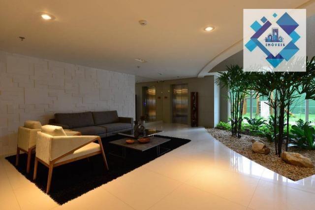 Apartamento alto padrão, 226m² com 4 suítes no Bairro do Meireles. - Foto 3