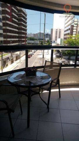 Apartamento com 2 dormitórios à venda, 110 m² por R$ 550.000 - Jatiúca - Maceió/AL