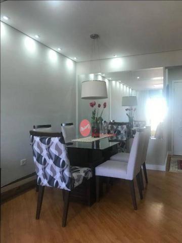 Apartamento com 3 dormitórios à venda, 100 m² por R$ 450.000 - Centro - Suzano/SP - Foto 6