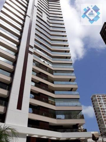 Apartamento com 4 dormitórios à venda, 235 m² por R$ 2.000.000 - Meireles - Fortaleza/CE - Foto 14