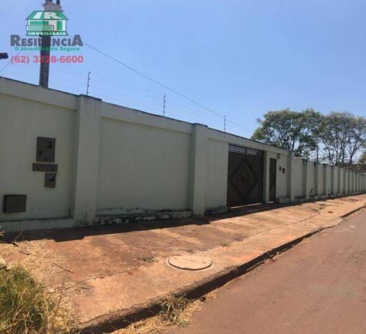 Chácara com 2 dormitórios para alugar, 4000 m² por R$ 2.500/mês - Chácaras Americanas - An