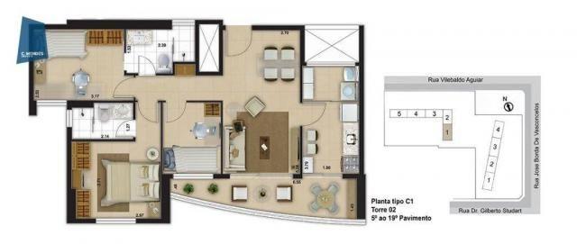 Apartamento com 3 dormitórios à venda, 71 m² por R$ 455.000,00 - Cocó - Fortaleza/CE - Foto 18