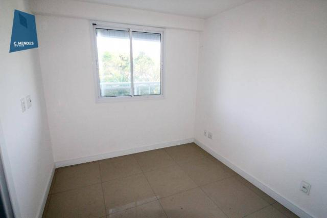 Apartamento para alugar, 105 m² por R$ 2.300,00/mês - Jardim das Oliveiras - Fortaleza/CE - Foto 12
