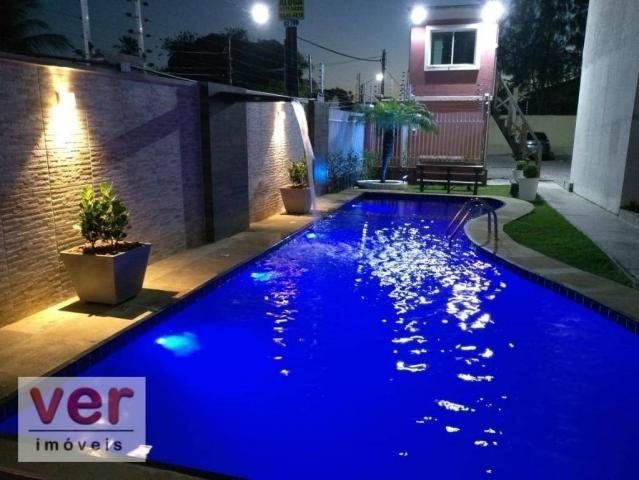 Apartamento à venda, 58 m² por R$ 200.000,00 - Messejana - Fortaleza/CE