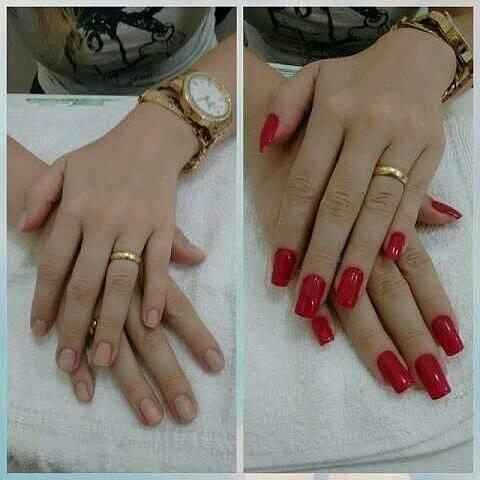 Manicure e Alongamento de Unha / Atendo À Domicilio