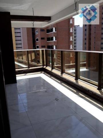Apartamento com 4 dormitórios à venda, 235 m² por R$ 2.000.000 - Meireles - Fortaleza/CE - Foto 4