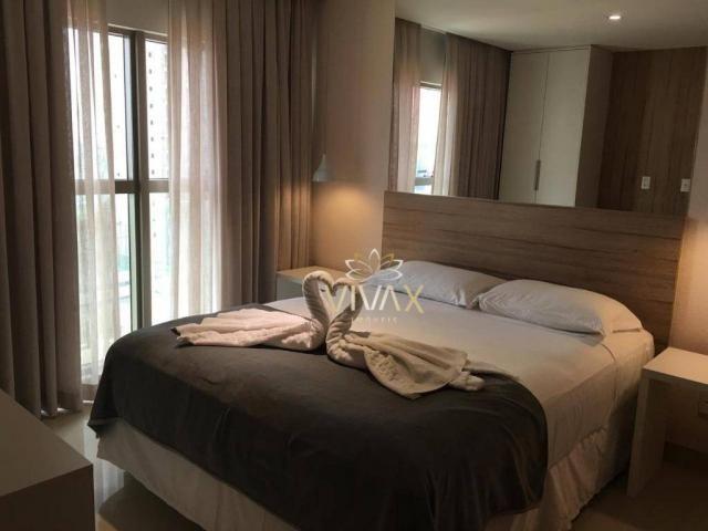 Flat com 1 dormitório à venda, 43 m² por R$ 360.000 - Ponta Negra - Natal/RN - Foto 8