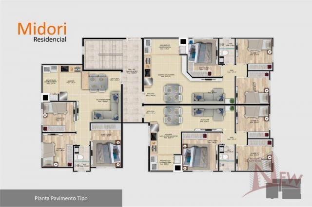 Apartamento 03 quartos no Parque da Fonte, São José dos Pinhais - Foto 12