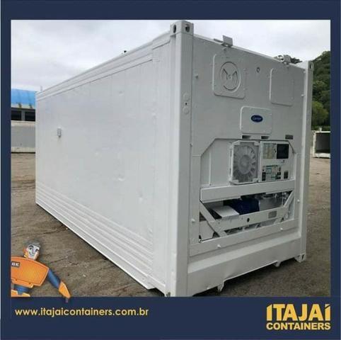 Promoção de camara fria container. 12m 6m 3m o tamanho que precisar - Foto 2
