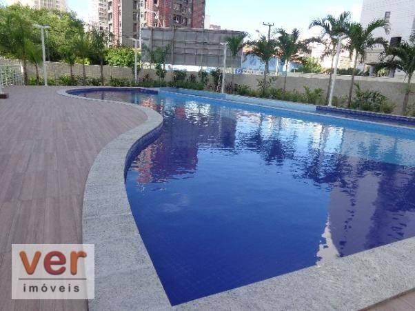 Apartamento à venda, 130 m² por R$ 1.165.398,49 - Cocó - Fortaleza/CE - Foto 3