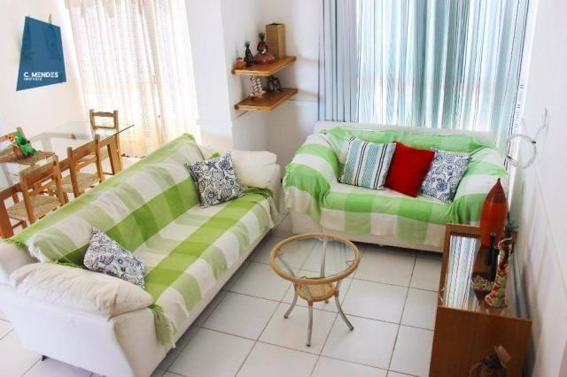Apartamento Duplex para alugar, 130 m² por R$ 4.000,00/mês - Mucuripe - Fortaleza/CE - Foto 3