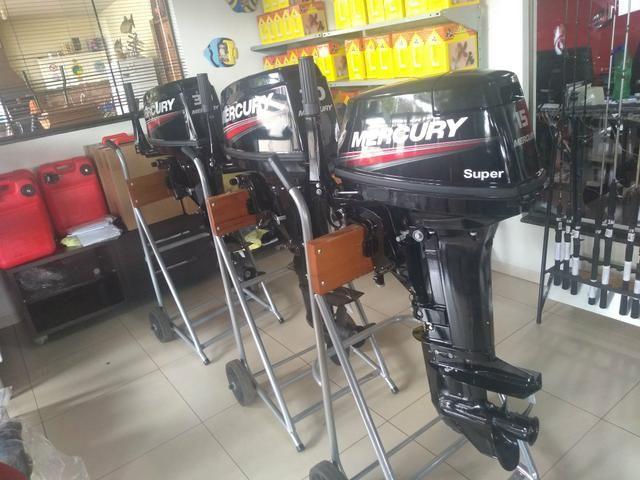 Motores Mercury pronta entrega em 12 x
