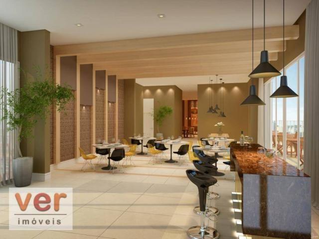 Apartamento com 3 dormitórios à venda, 80 m² por R$ 599.000,00 - Cambeba - Fortaleza/CE - Foto 13