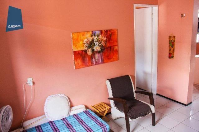 Apartamento 48 m² à venda, 02 Quartos 01 vaga, Antônio Bezerra, Fortaleza. - Foto 3