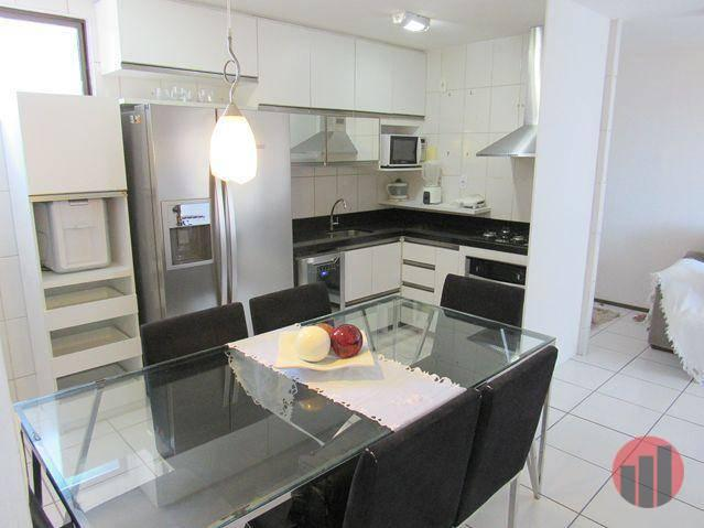 Apartamento com 3 dormitórios para alugar, 63 m² por R$ 1.900/mês - Mucuripe - Fortaleza/C - Foto 17