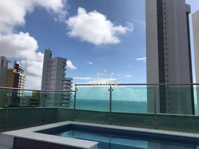 Flat com 1 dormitório à venda, 43 m² por R$ 360.000 - Ponta Negra - Natal/RN - Foto 16