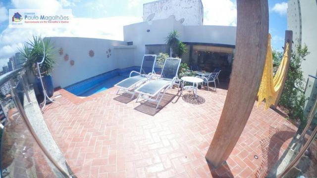 Cobertura com 4 dormitórios 3 suítes  vista a mar nascente à venda, 575m² total m² Rio Ver - Foto 2