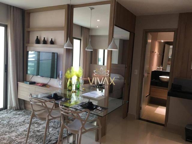Flat com 1 dormitório à venda, 43 m² por R$ 360.000 - Ponta Negra - Natal/RN - Foto 5