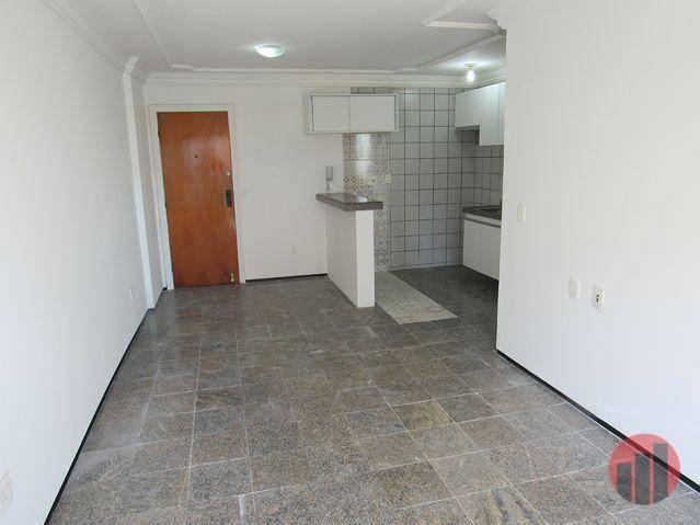 Apartamento com 1 dormitório para alugar, 47 m² por R$ 1.000,00/mês - Praia de Iracema - F - Foto 6