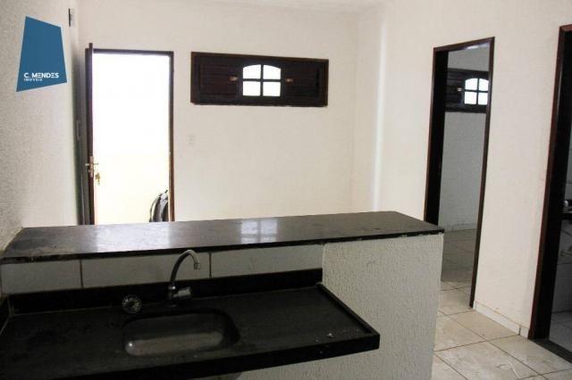 Apartamento 45m² para locação, 2 quartos, Lagoa Redonda, Fortaleza. - Foto 3