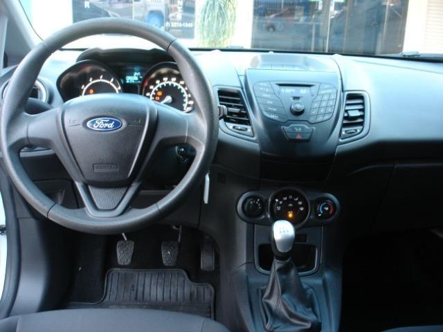 Fiesta Hatch 1.5 S Completíssimo de Única Dona Tirado em Goiânia Super Novo - Foto 8