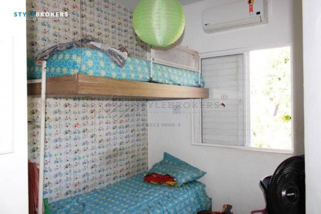Casa no Condomínio Canachuê com 3 dormitórios à venda, 67 m² por R$ 250.000 - Jardim Santa - Foto 7