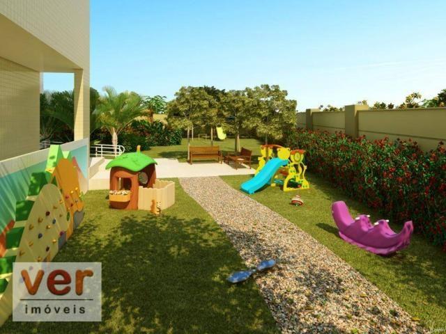 Apartamento com 3 dormitórios à venda, 80 m² por R$ 599.000,00 - Cambeba - Fortaleza/CE - Foto 9