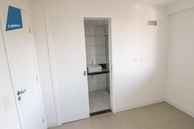 Apartamento para alugar, 105 m² por R$ 2.300,00/mês - Jardim das Oliveiras - Fortaleza/CE - Foto 13