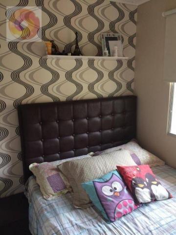 Apartamento com 2 dormitórios à venda, 39 m² por R$ 130.000 - Cidade Industrial - Curitiba - Foto 4