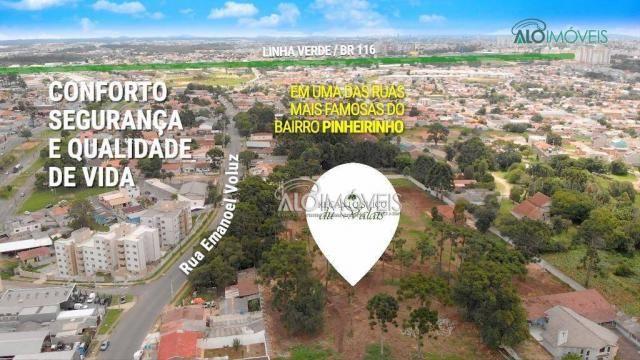 Terreno à venda, 123 m² por r$ 173.558,11 - pinheirinho - curitiba/pr - Foto 3