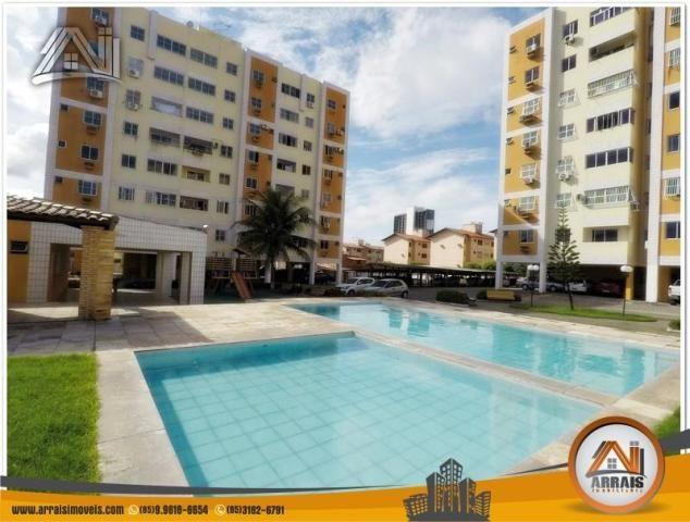 Apartamento com 3 dormitórios à venda, 70 m² por R$ 240.000,00 - Montese - Fortaleza/CE