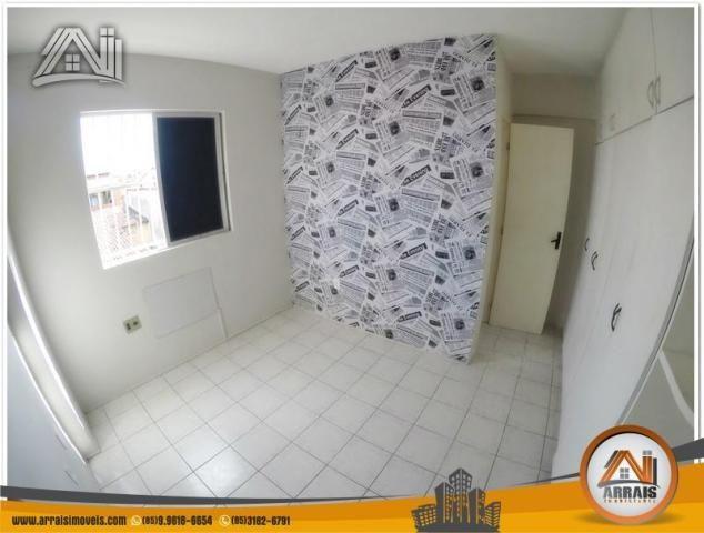 Apartamento com 3 dormitórios à venda, 70 m² por R$ 240.000,00 - Montese - Fortaleza/CE - Foto 10
