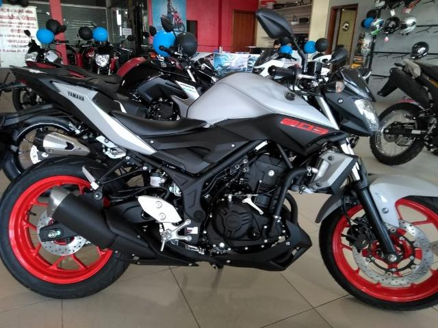 Yamaha Mt-03 ABS 2020 Ace Fluo! Linda moto, confira! Yamaha de sapiranga 51996877898