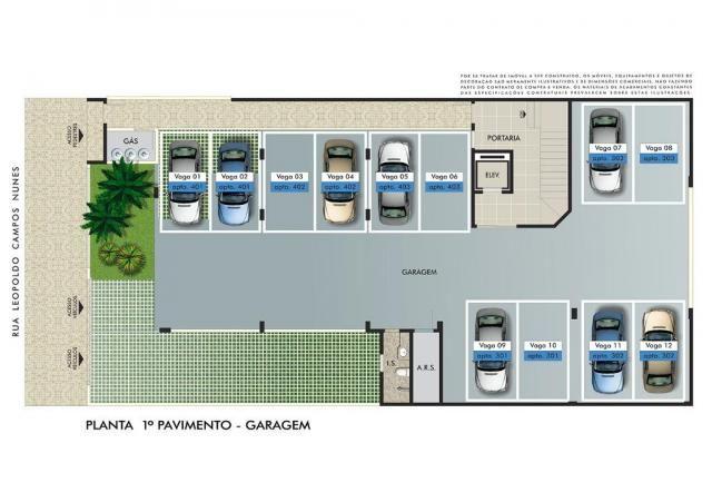 Apartamento com 3 dormitórios à venda, 112 m² por R$ 350.000 - Manacás - Belo Horizonte/MG - Foto 2